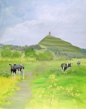 Tor with cows (unframed)