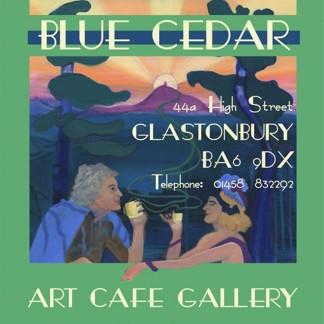 Blue Cedar Cafe Poster