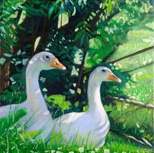 Godney Geese (unframed)