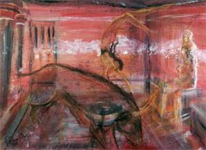 "Vision at Knossos - giclee print 22"" x 16"""