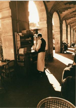 Parisian Cafe A4 print