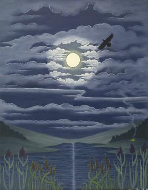 Moon Magic - giclee print