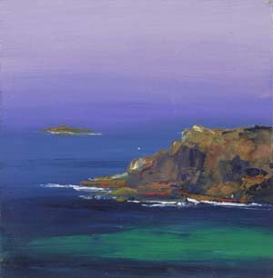 """Turquoise Waters - giclee print on canvas, 6"""" x 6"""""""