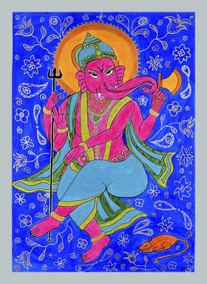 Ganesha giclee print