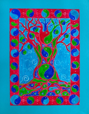Yin-Yang Tree - Giclee Print