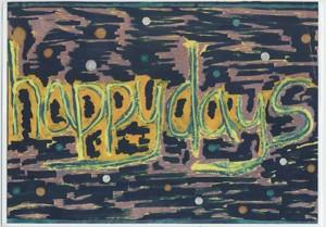 Happy Days- giclee print