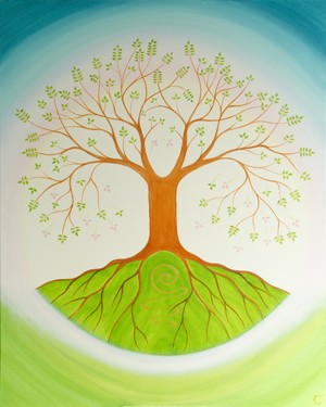 """Tree of Life"" giclee print"