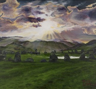 Castlerigg Stone Circle - Original artwork