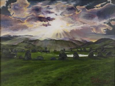 Castlerigg Stone Circle - Original artwork