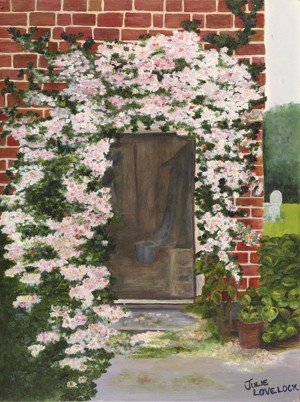 Donna's Doorway - original artwork