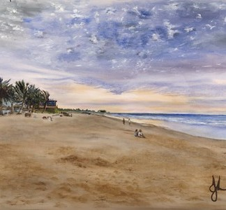 Koto Beach, Gambia - limited Artist's Proofs. All profits to charity