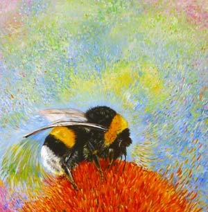Bombus Delight - giclee print from £45