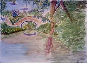 Tapestry Bridge - giclee print