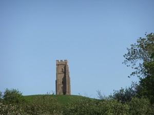Glastonbury Tor, A4 print