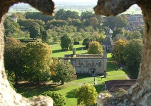 Ancestors Abbey from St John's Tower - giclee print