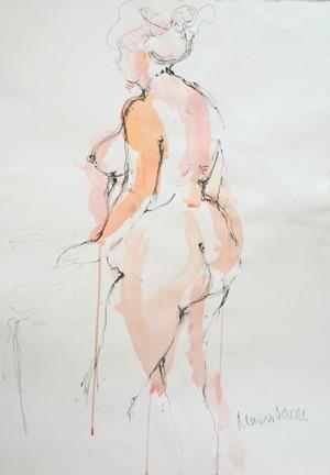 Pink Lady, unframed original