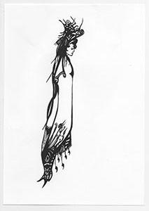 Mystical Maiden - giclee print