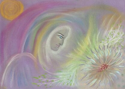 Passion Flower Healing - giclee print