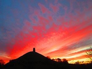 Tor Sunset - A3 Giclee Print