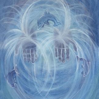 Healing Hands - Giclee Print