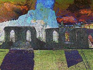 Abbey Ruins Landscape 3