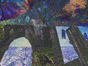 Abbey Ruins Landscape 11