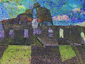 Abbey Ruins Landscape 9