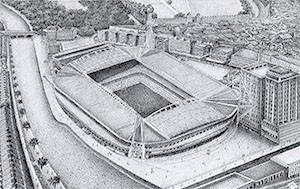 Stadium - Giclee Print