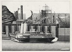 Barry Pierhead - Giclee Print