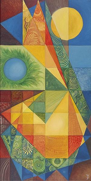 Harmonic Alignment Giclee Print