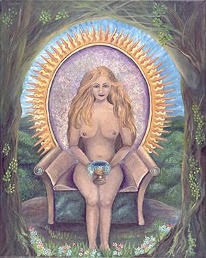 Grail Maiden Giclee Print